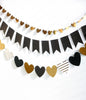 Mini gold Heart Banner Kit