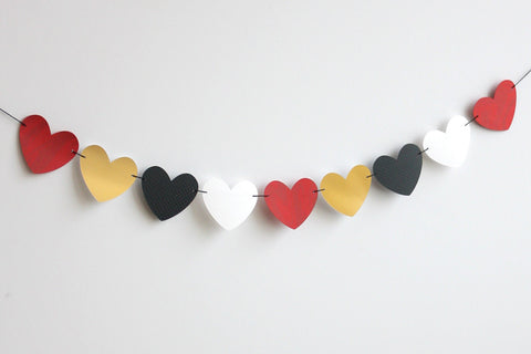 Hey Valentine Heart Banner Kit