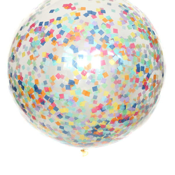 Hip Hip Hooray Confetti Balloon