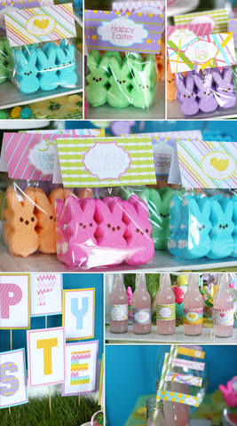 DIY EASTER printable Collection: I heart the Easter Bunny by Wants and Wishes