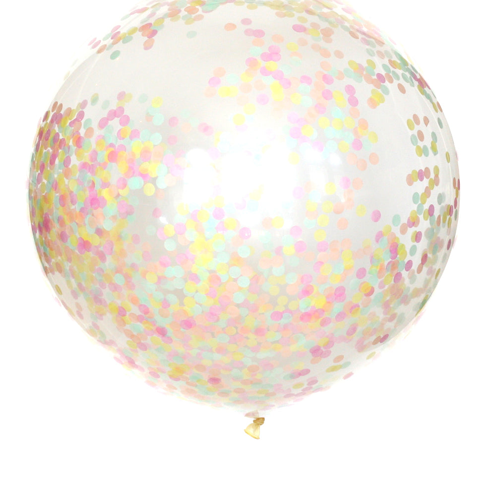 Ice Cream Parlor Confetti Balloon
