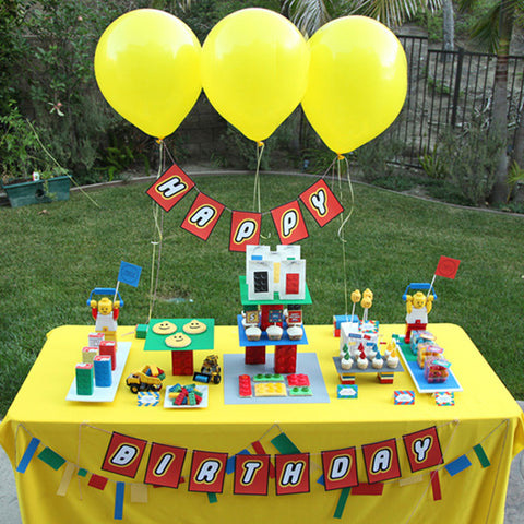 Lego INSPIRED Birthday Party printable Invitation by Wants and Wishes