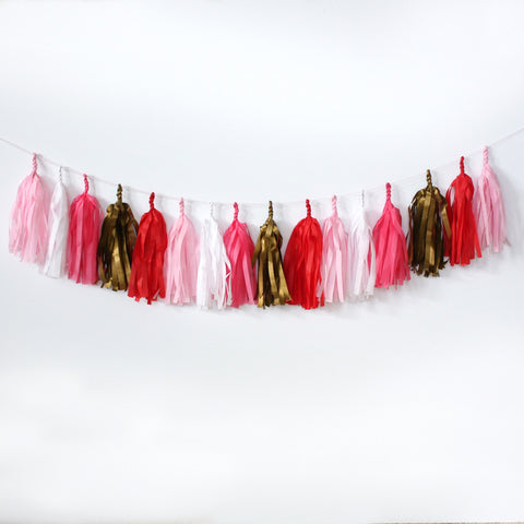Love is in the Air Fringe Tassel Garland Kit