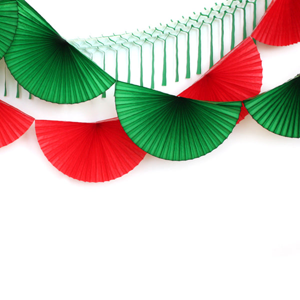 Merry Everything Fan Bunting Garland