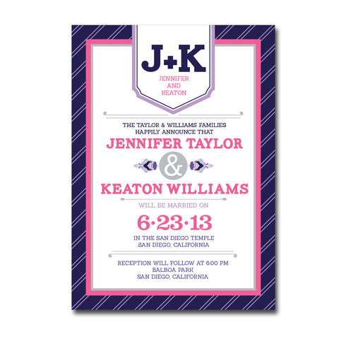 Modern Fairy Tale Wedding Invitations