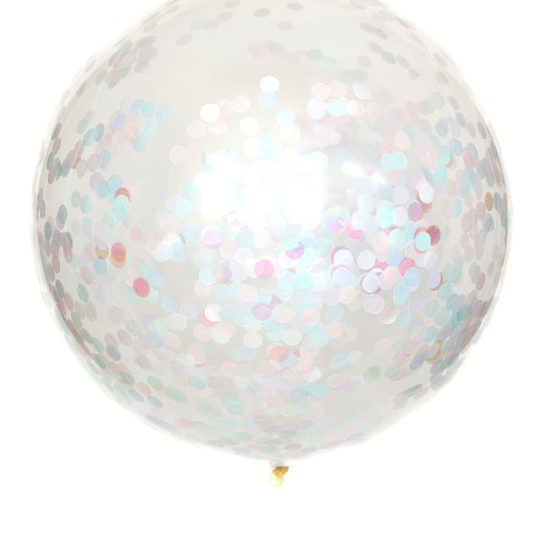 Pearly Shells Confetti Balloon