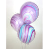 Princess Purple Marble Balloon Bundle