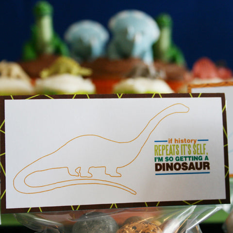 Printable DINOSAUR Rawr Birthday Collection