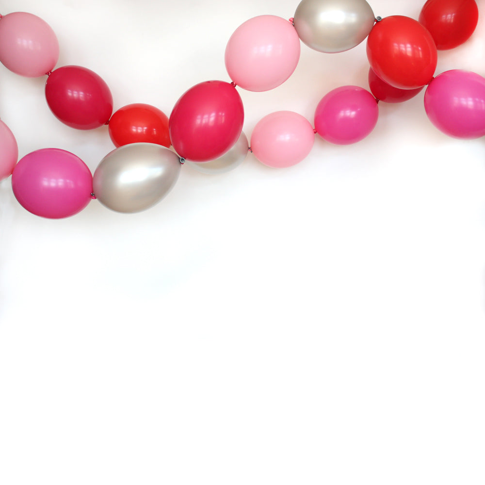 Rose Garden Link Balloon Garland