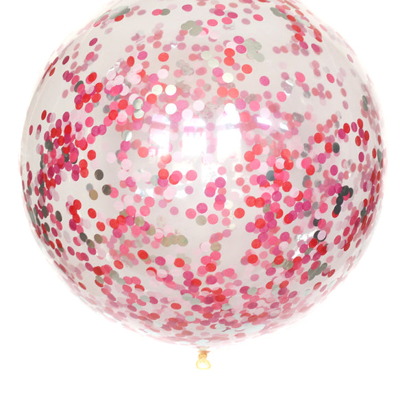 Rose Garden Confetti Balloon