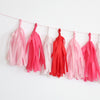 Sweethearts Fringe Tassel Garland Kit or Fully Assembled