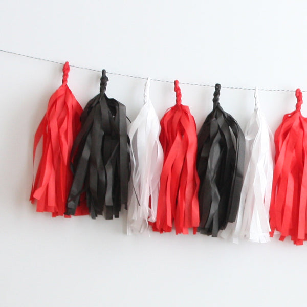 Checkers Tassel Garland Kit