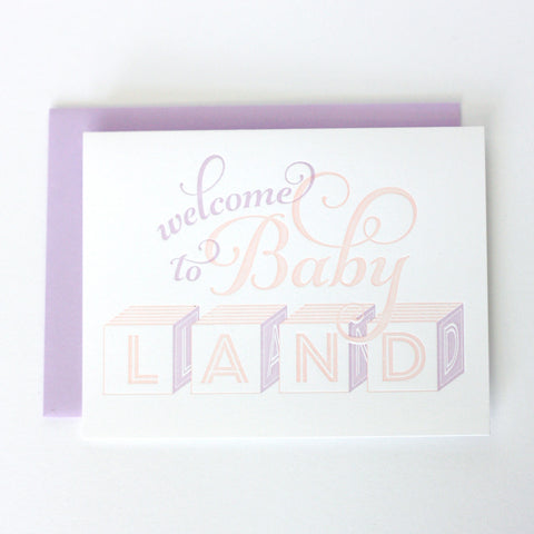 Welcome to Babyland- Girl