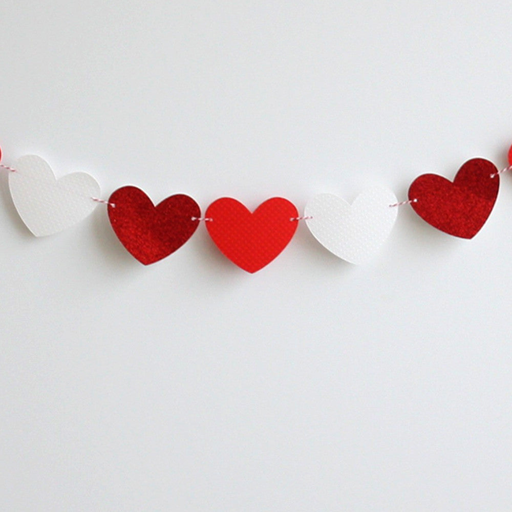 XOXO Heart Banner Kit