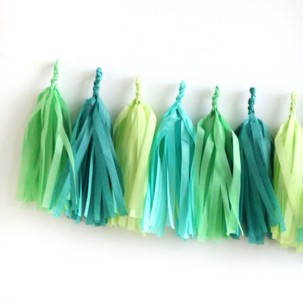 Adventure Fringe Tassel Garland Kit or Fully Assembled