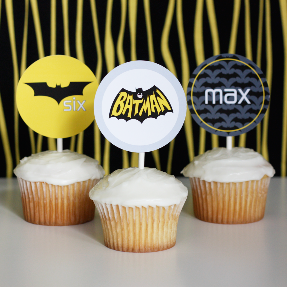 Batman printable Superhero Collection by Wants and Wishes