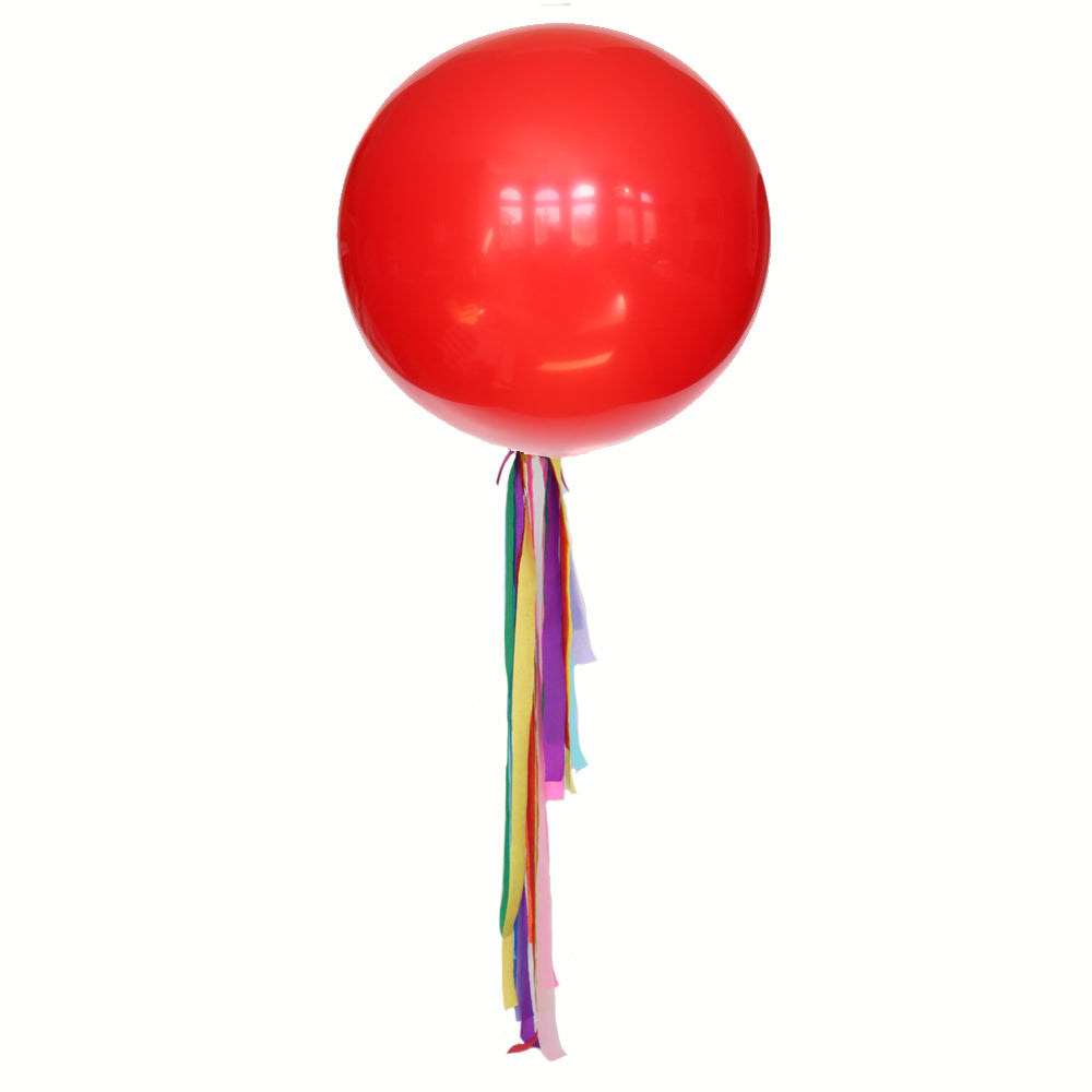 Bright Rainbow Balloon Streamer Kit
