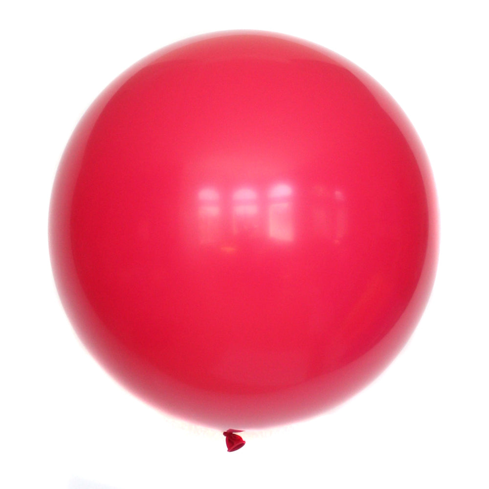 "36"" Wild Rose Solid Balloon"