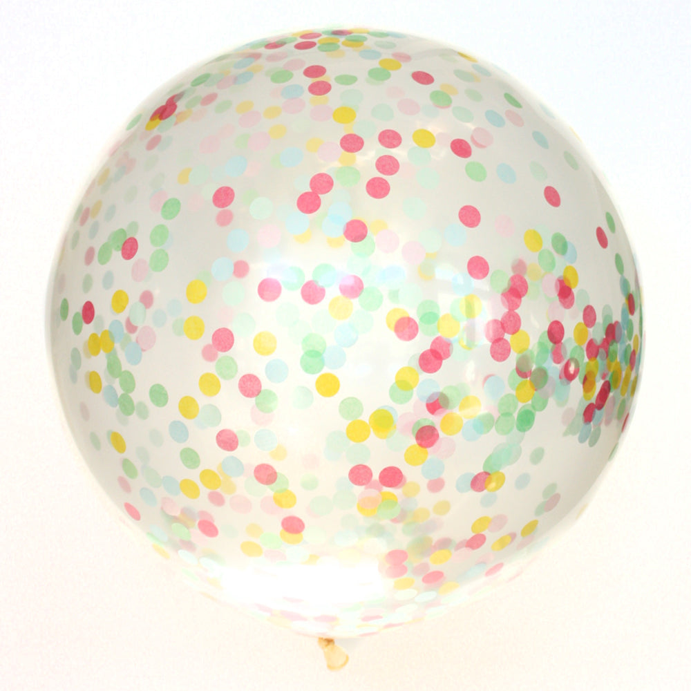 Celebrate Confetti Balloon
