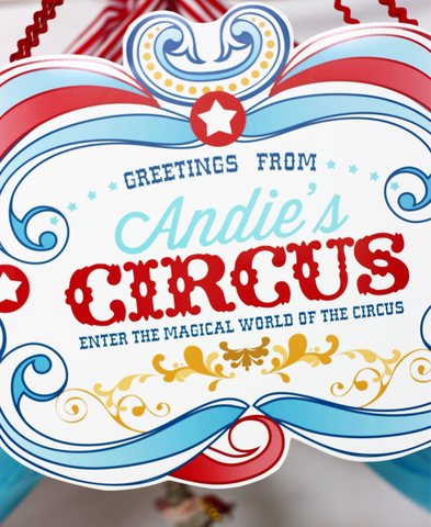 Printable Circus/ Carnival Birthday Signs- Enter the Magical world of the CIRCUS by Wants and Wishes