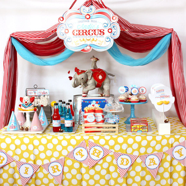 Printable Circus/ Carnival Birthday collection