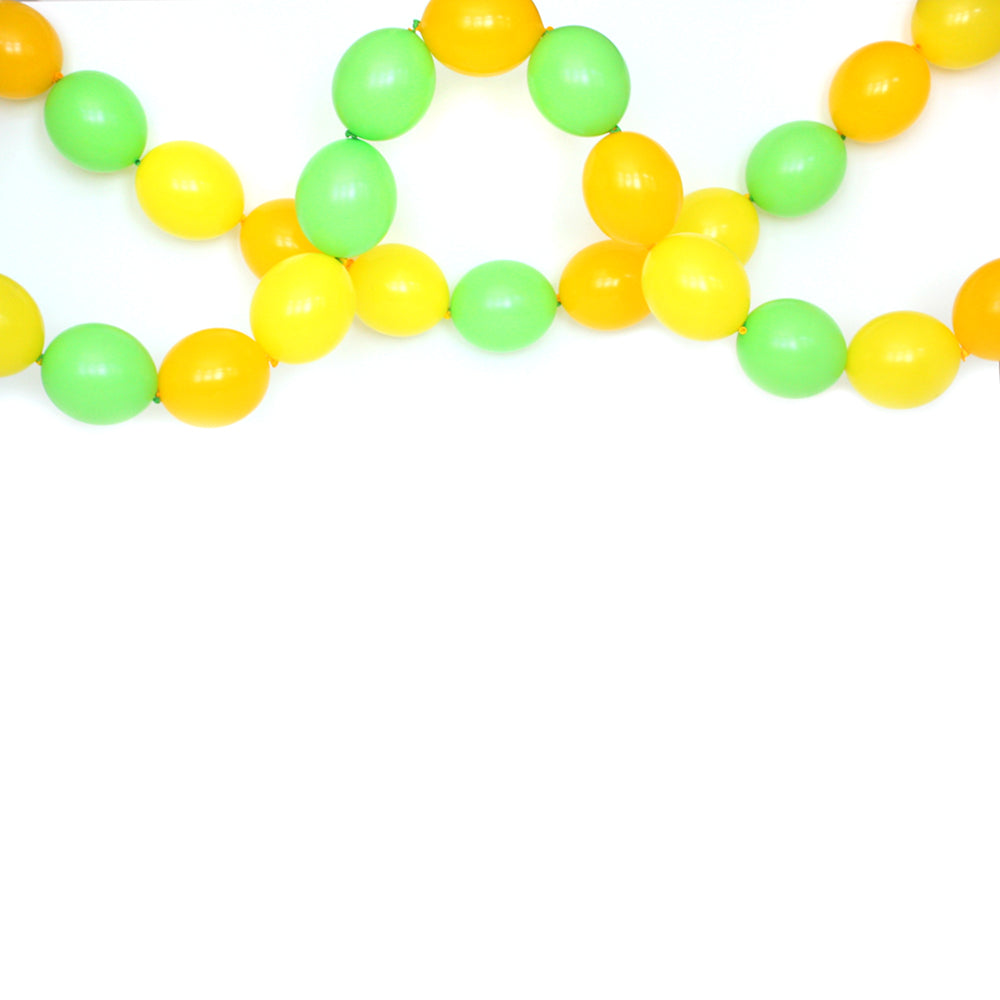 Citrus Link Balloon Garland