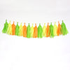 Citrus Tassel Garland Kit or Fully Assembled