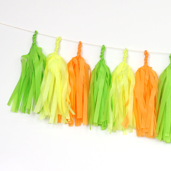 Citrus Tassel Garland Kit - wholesale
