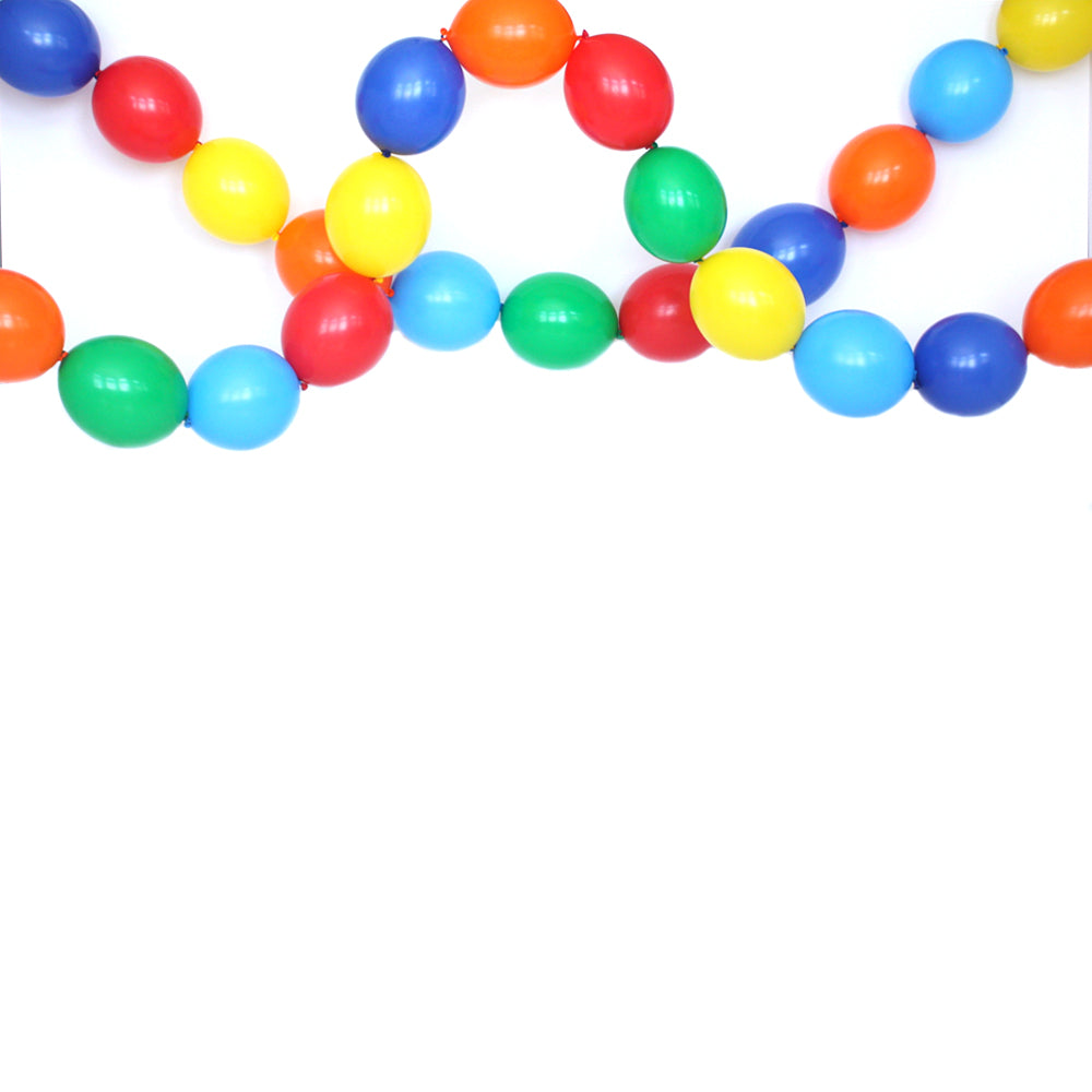 Classic Birthday Link Balloon Garland