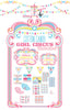 Cotton Candy Girl Circus printable Collection