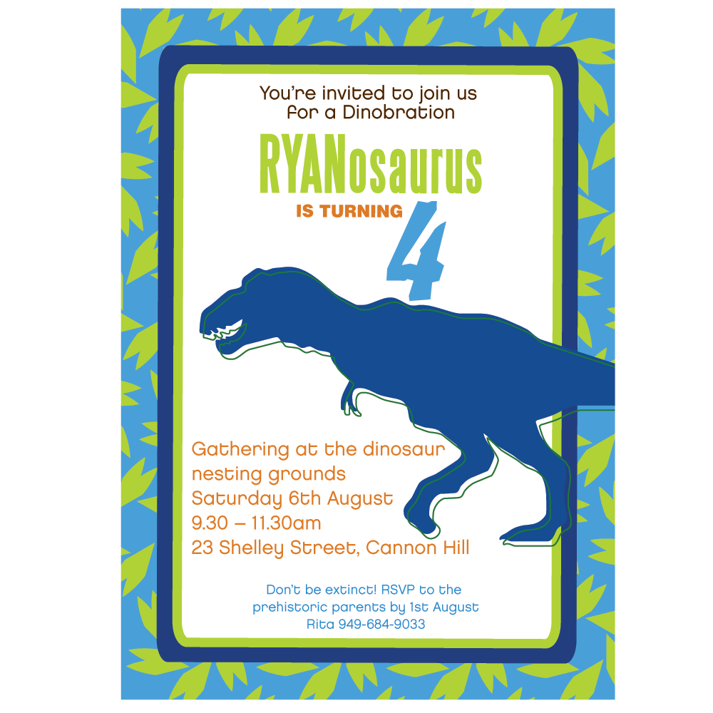 dinosaur rawr printable invitation different color ways wants dinosaur rawr printable invitation 2 different color ways
