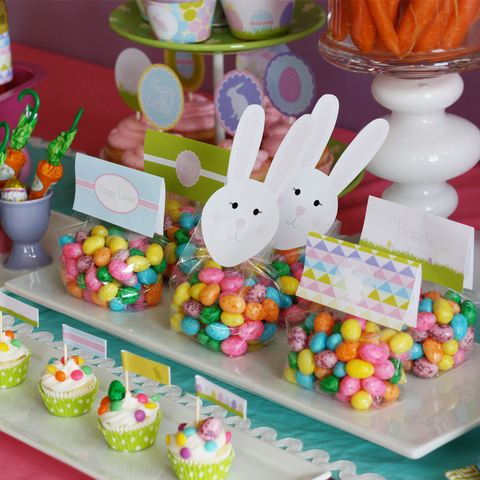 Printable EASTER Egg Decorating Party & Easter Hunt Gathering Collection