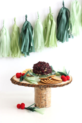 Evergreen Wreath Christmas Fringe Tassel Garland Kit