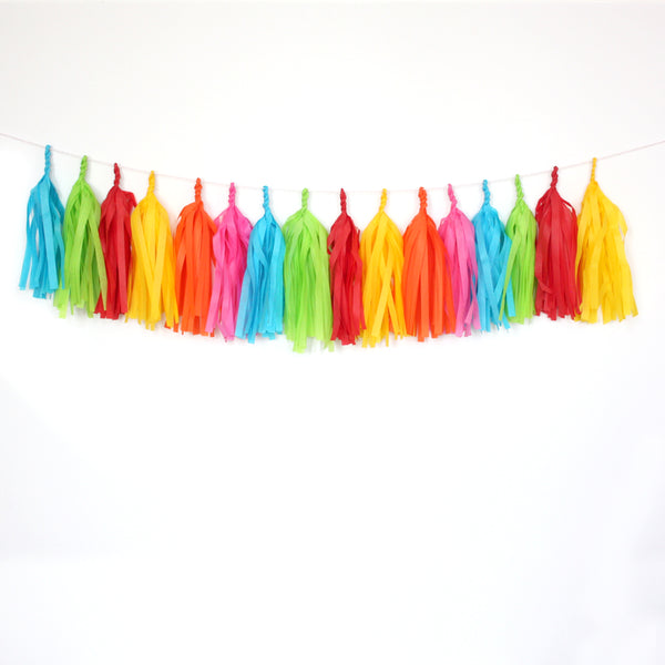 Fiesta Tassel Garland Kit or Fully Assembled