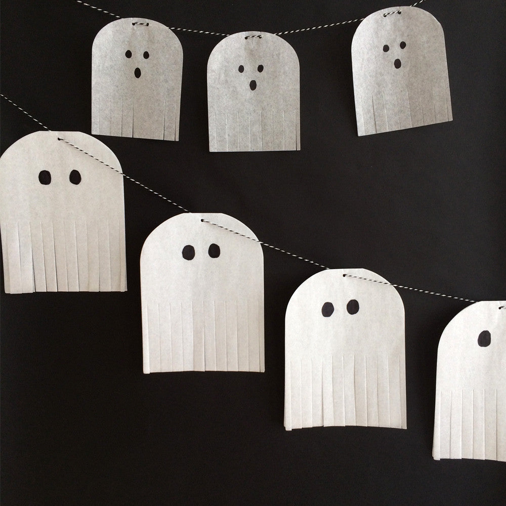 Halloween Ghost Garland Kit