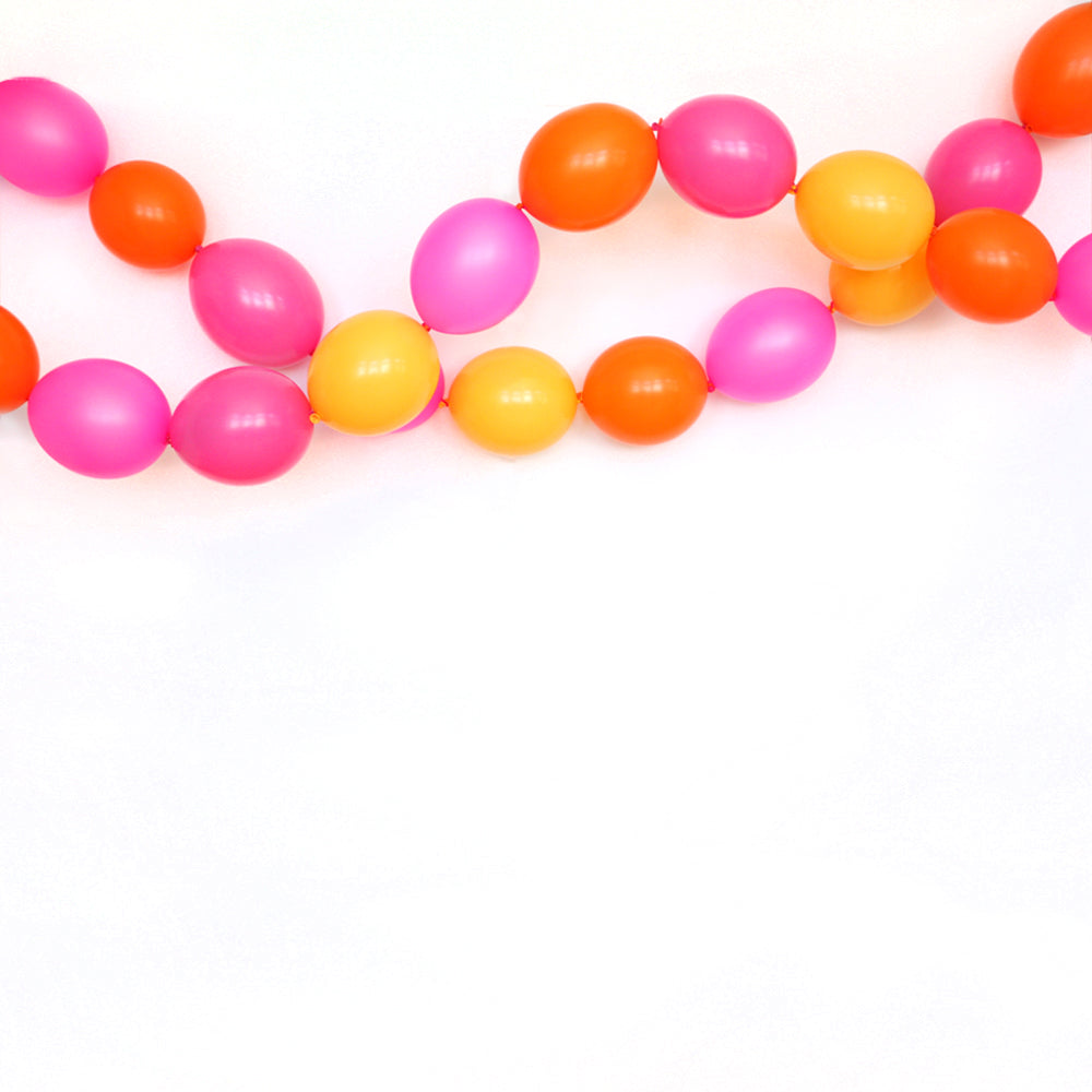 Girls Just Wanna Have Fun Link Balloon Garland