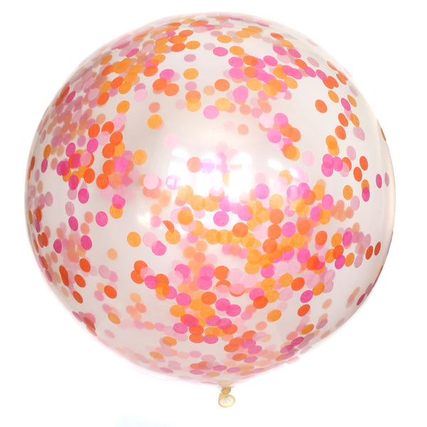 Girls Just Wanna Have Fun Confetti Balloon