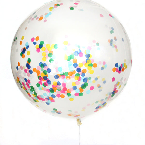 Happy Confetti Balloon