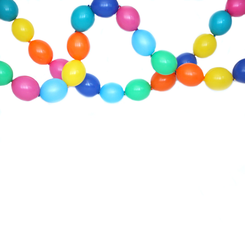 Hip Hip Hooray Link Balloon Garland