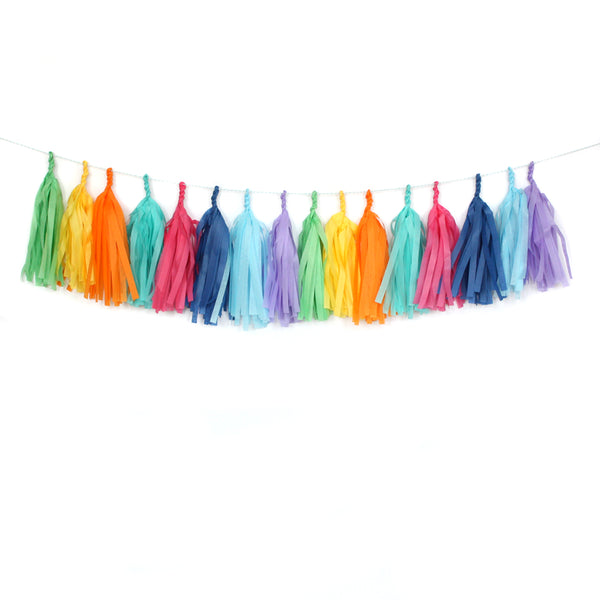 Hip Hip Hooray Tassel Garland Kit or Fully Assembled