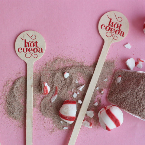 Hot Cocoa Holiday Stir Sticks