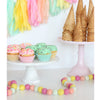 Ice Cream Parlor Felt Ball Garland