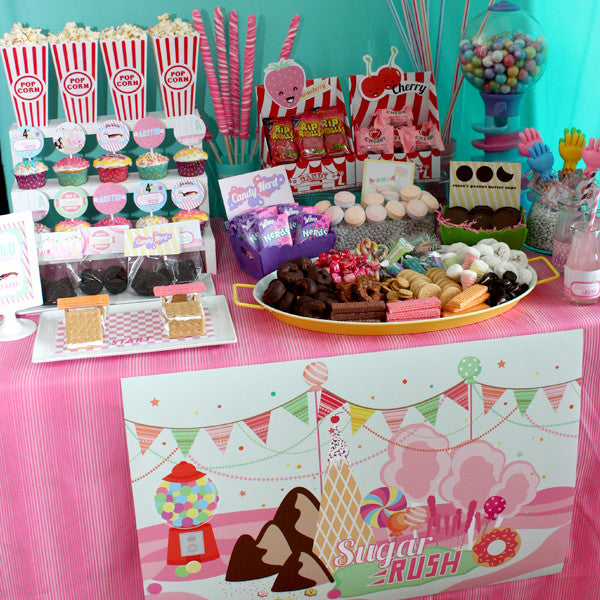 Sugar Rush Inspired Party Collection from Wreck it Ralph Movie