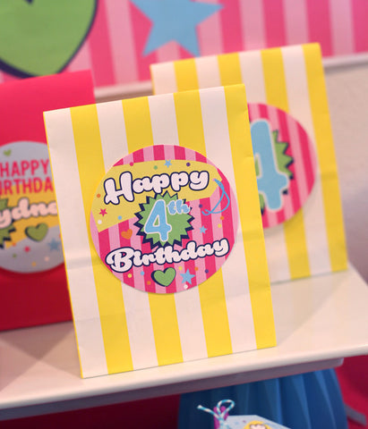 Shopkins printable Invitation