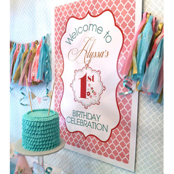 Delicate and Dainty printable Birthday Party