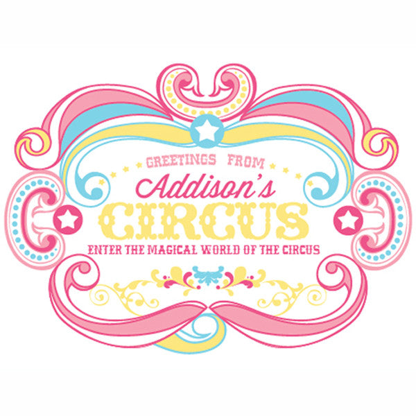 Printable Circus/ Carnival Birthday Signs- Cotton Candy Girl CIRCUS by Wants and Wishes