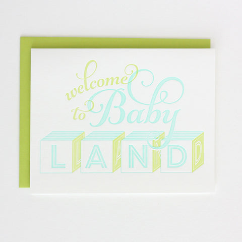 Welcome to Babyland- Boy