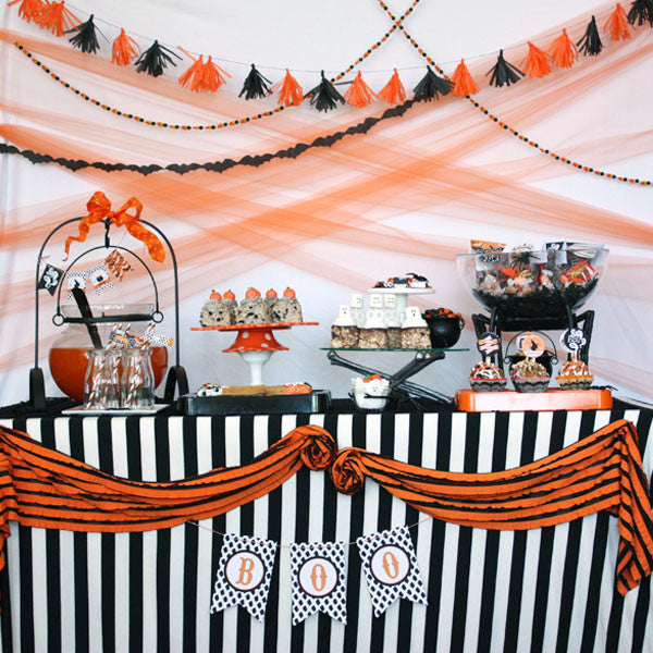 Vintage Retro printable Halloween party collection
