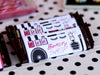Sweet Beauty Shop Make-Up Birthday party printables