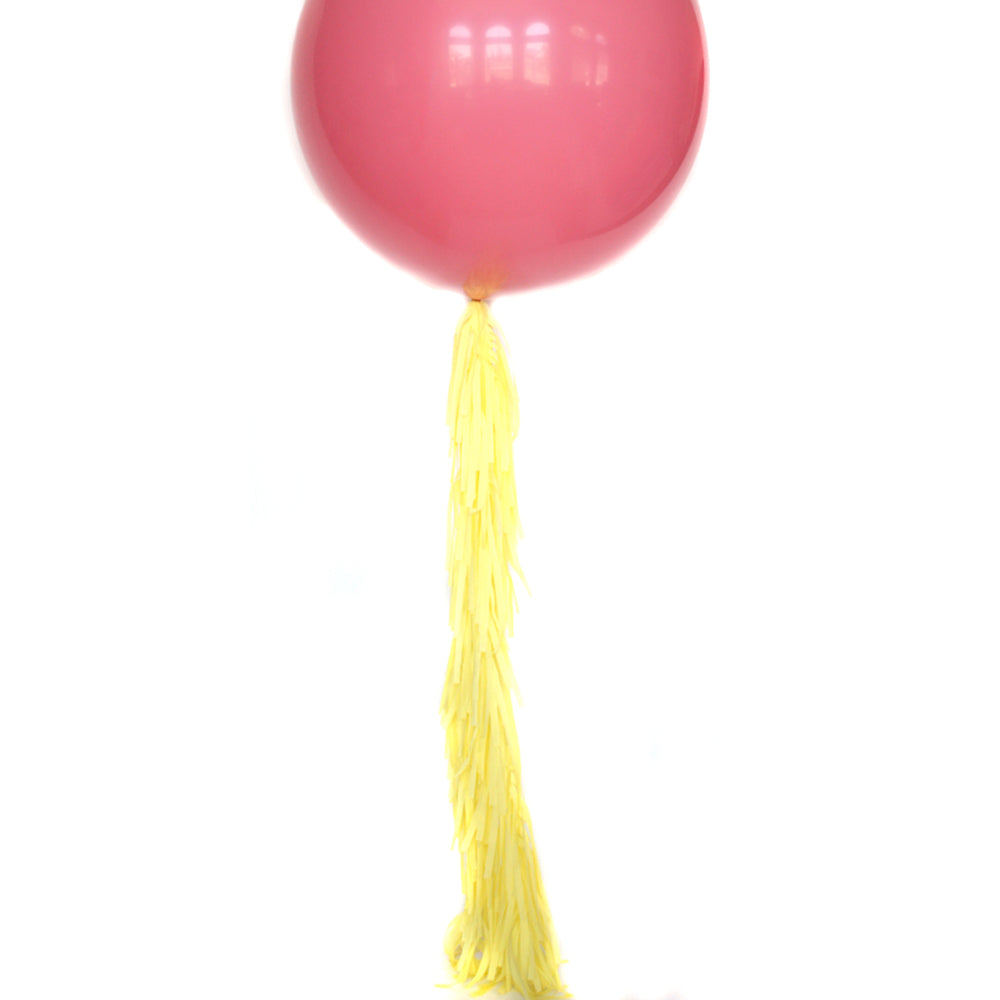 Lemonade Frilly Balloon Tassel